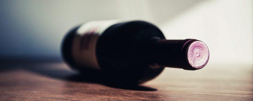 Depósito fiscal de botellas de vino